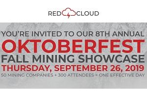 This Thursday - Red Cloud's 8th Annual Fall Mining Showcase