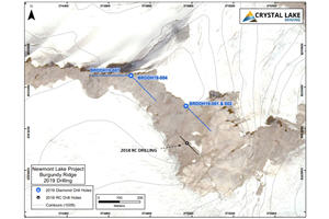 Crystal Lake Extends BC Gold Project Depth